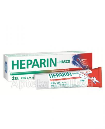 HEPARIN HASCO Żel 250 j.m./1 g - 35 g - Apteka internetowa Melissa