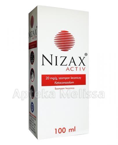 NIZAX ACTIV Szampon leczniczy - 100 ml - Apteka internetowa Melissa