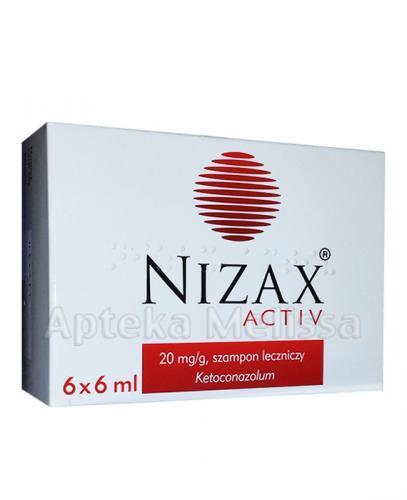 NIZAX ACTIV Szampon leczniczy - 6 x 6 ml - Apteka internetowa Melissa