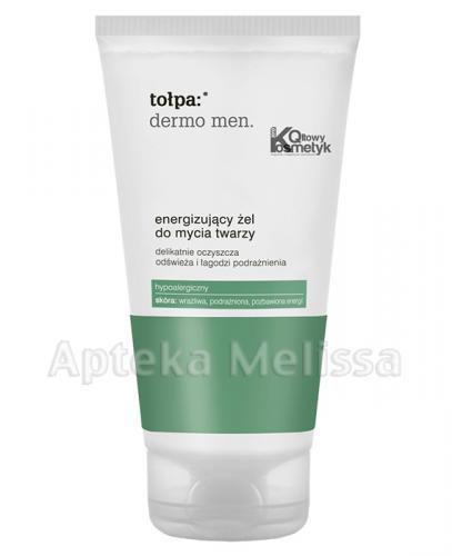 TOŁPA DERMO MEN Energizujący żel do mycia twarzy - 150 ml  - Apteka internetowa Melissa