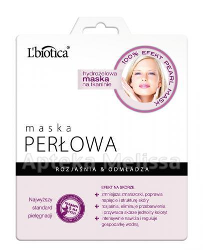 L BIOTICA Hydrożelowa maska perłowa - 25 g