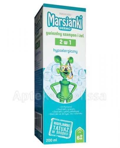 MARSJANKI DERMO Gwiezdny szampon i żel 2w1 - 200 ml - Apteka internetowa Melissa