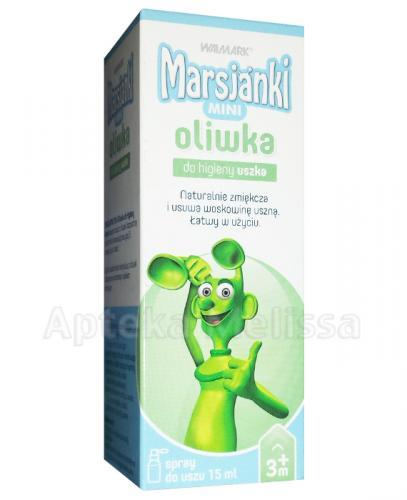 MARSJANKI MINI Oliwka do higieny uszka - 15 ml - Apteka internetowa Melissa