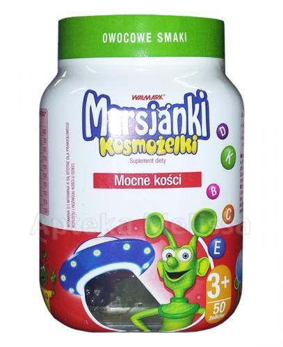MARSJANKI Kosmożelki o smaku owocowym - 50 szt. - Apteka internetowa Melissa
