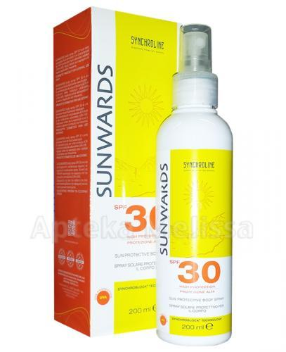 SYNCHROLINE SUNWARDS Spray do ciała SPF30 - 200 ml - Apteka internetowa Melissa