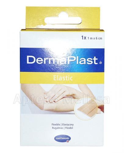 DERMAPLAST ELASTIC Plaster 6 cm x 1 m - 1 szt. - Apteka internetowa Melissa
