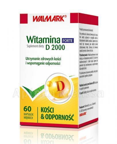 WALMARK WITAMINA D 2000 FORTE - 60 kaps. - Apteka internetowa Melissa