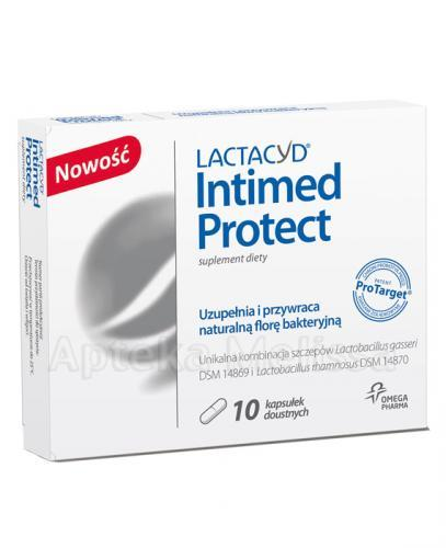 LACTACYD INTIMED PROTECTION - 10 kaps.