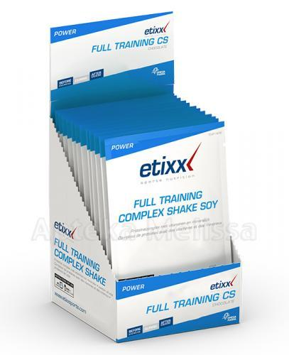 ETIXX FULL TRAINING COMPLEX SHAKE SOY - 50 g - Apteka internetowa Melissa