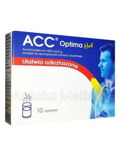 ACC OPTIMA HOT 600 mg - 10 sasz.