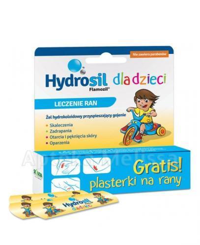 HYDROSIL DLA DZIECI Żel do leczenia ran - 20 g + Plasterki GRATIS! - Apteka internetowa Melissa