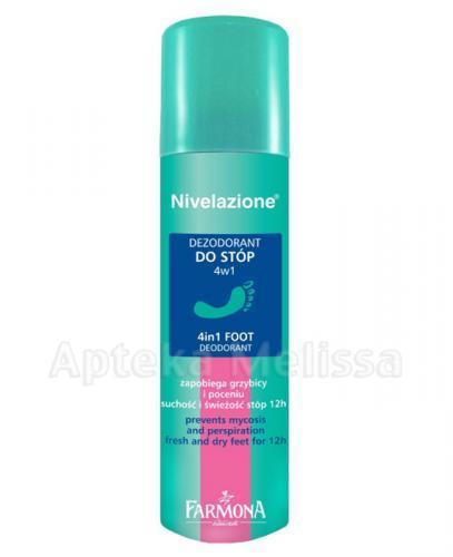 FARMONA NIVELAZIONE Dezodorant do stóp 4w1 - 75 ml - Apteka internetowa Melissa
