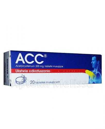 ACC 200 mg - 20 tabl. mus.