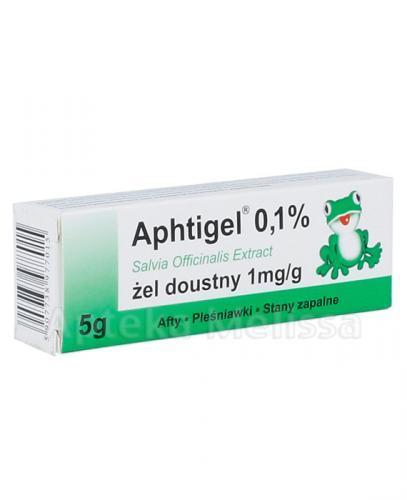 APHTIGEL Żel doustny 1 mg/g - 5 g - Apteka internetowa Melissa