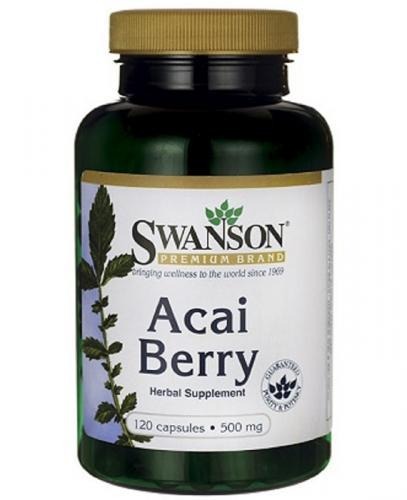 SWANSON Acai owoce 500 mg - 120 kaps. - Apteka internetowa Melissa