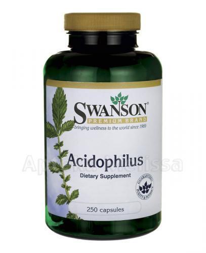 SWANSON Acidophilus - 250 kaps.