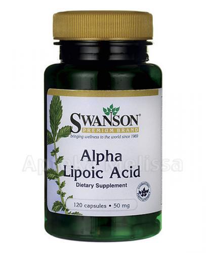SWANSON ALA Kwas alfa liponowy 50 mg - 120 kaps. - Apteka internetowa Melissa