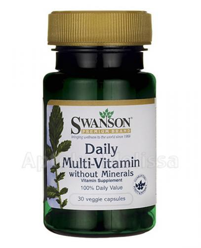SWANSON Daily Multi-Vitamin - 30 kaps. - Apteka internetowa Melissa