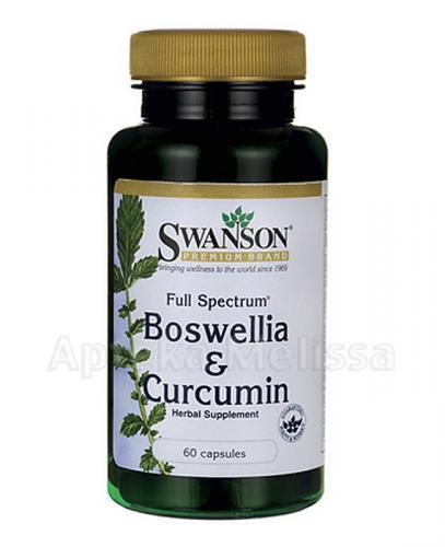 Swanson Full Spectrum Boswellia & Curcumin - Aptak internetowa Melissa