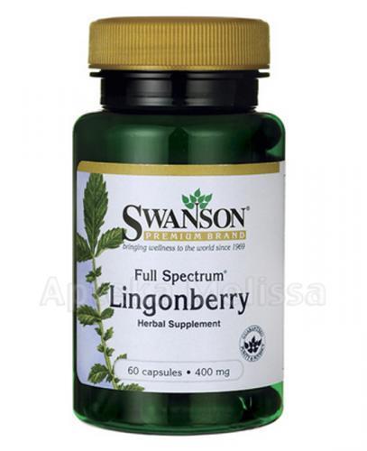 Swanson Full Spectrum Lingonberry - Apteka internetowa Melissa