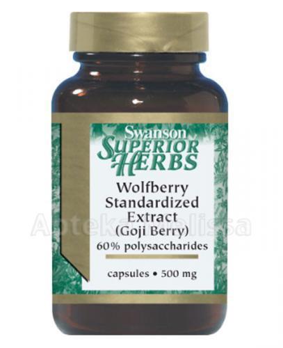 Swanson Goji standaryzowany ekstrakt 500 mg - Apteka internetowa Melissa