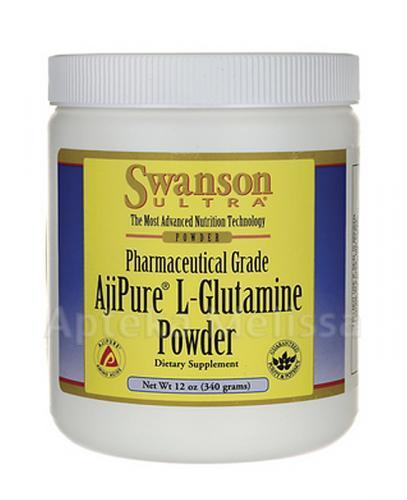 SWANSON AjiPure L-Glutamina - 340 g - Apteka internetowa Melissa