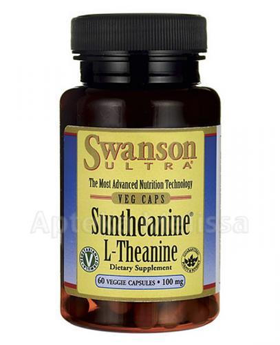 SWANSON Suntheanine L-Teanina - 60 kaps. - Apteka internetowa Melissa