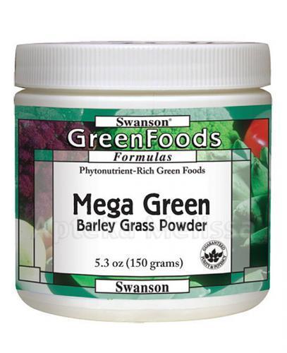 Swanson Mega Green Barley Grass - Apteka internetowa Melissa