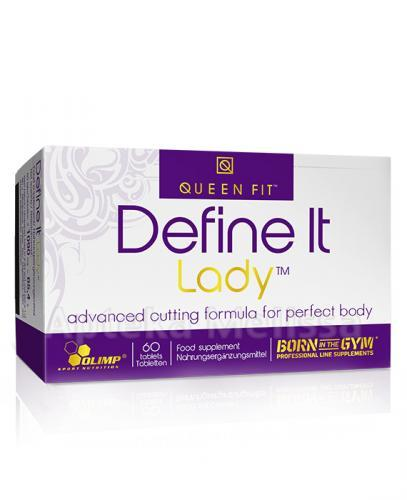OLIMP QUEEN FIT DEFINE IT LADY - 60 tabl.