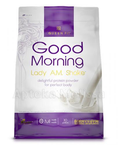 OLIMP QUEEN FIT GOOD MORNING LADY AM SHAKE Smak waniliowy - 720 g - Apteka internetowa Melissa