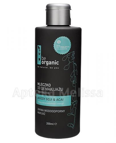 BE ORGANIC Mleczko do demakijażu - 200 ml - Apteka internetowa Melissa