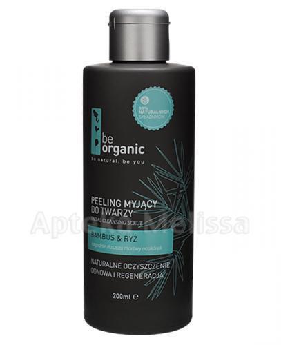 BE ORGANIC Peeling myjący do twarzy - 200 ml - Apteka internetowa Melissa