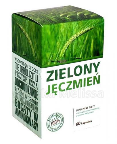 zielony jęczmień take good care