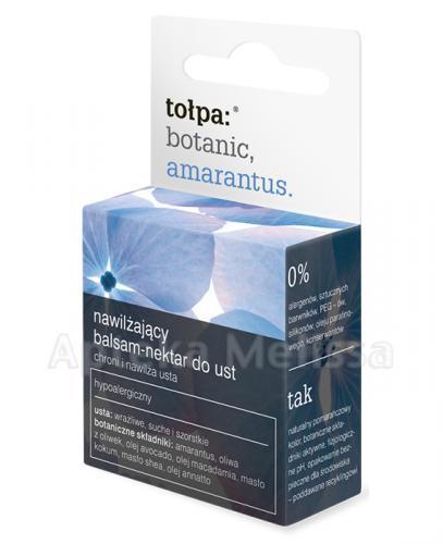 TOŁPA BOTANIC AMARANTUS Nawilżający balsam-nektar do ust - 8 g