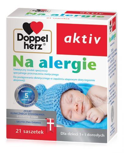 DOPPELHERZ AKTIV Na alergie - 21 sasz. - Apteka internetowa Melissa
