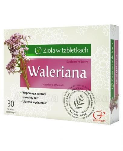 COLFARM WALERIANA - 30 tabl. - Apteka internetowa Melissa