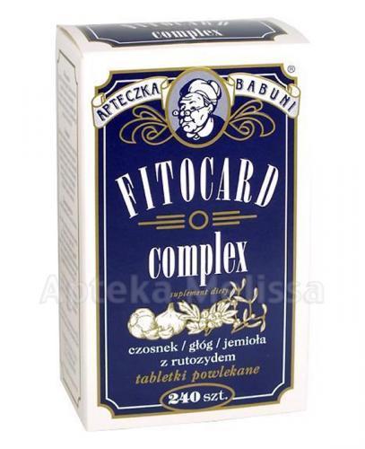 FITOCARD COMPLEX - 240 tabl. - Apteka internetowa Melissa