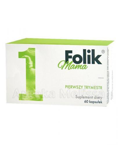 FOLIK MAMA PIERWSZY TRYMESTR - 60 kaps.