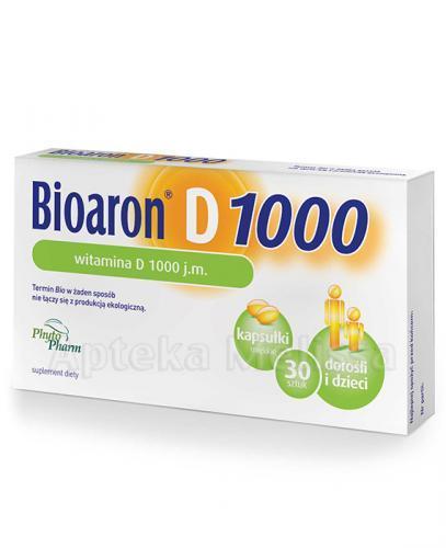 BIOARON WITAMINA D 1000 j.m. twist-off - 30 kaps.