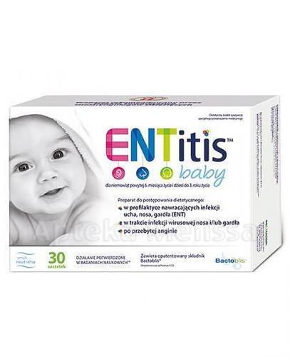 ENTITIS BABY Smak neutralny - 30 sasz.