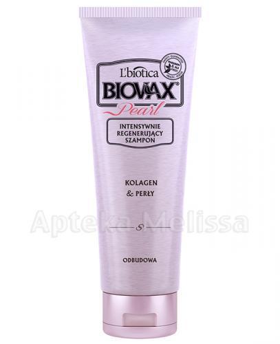 BIOVAX GLAMOUR PEARL Intensywnie regenerujący szampon - 200 ml - Apteka internetowa Melissa