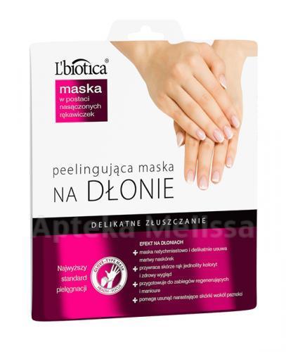 LBIOTICA Maska peelingująca na dłonie - 36 g - Apteka internetowa Melissa