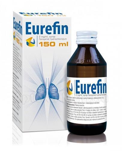 EUREFIN Syrop 2mg/ml - 150 ml - Apteka internetowa Melissa
