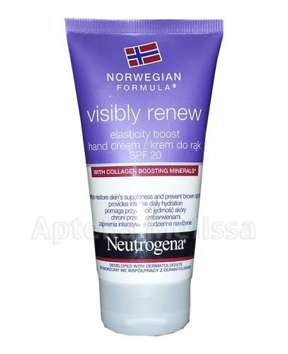 NEUTROGENA FORMUŁA NORWESKA VISIBLY RENEW Krem do rąk SPF20 - 75 ml - Apteka internetowa Melissa