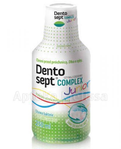 DENTOSEPT COMPLEX JUNIOR Płyn guma miętowa - 250 ml - Apteka internetowa Melissa