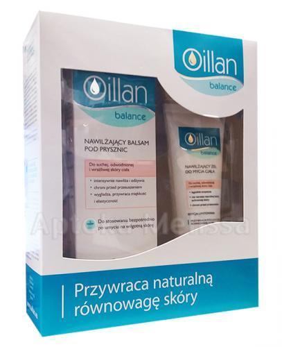 OILLAN BALANCE Nawilżający balsam pod prysznic - 200 ml + Nawilżający żel do mycia ciała - 100 ml - Apteka internetowa Melissa