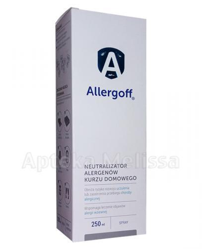 ALLERGOFF SPRAY Neutralizator alergenów kurzu domowego - 250 ml - Apteka internetowa Melissa