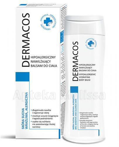 DERMACOS Hipoalergiczny nawilżający balsam do ciała - 250 ml - Apteka internetowa Melissa