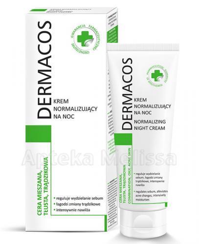 DERMACOS Krem normalizujący na noc - 50 ml