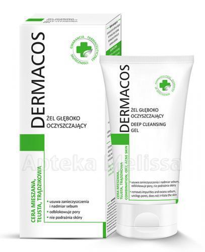DERMACOS Żel głęboko oczyszczający - 150 ml - Apteka internetowa Melissa